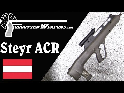Steyr ACR: A Polymer Flechette-Firing Bullpup From the 90s