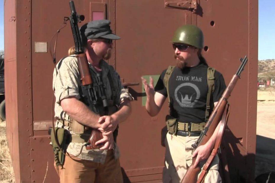 FG42 vs M1 Garand: 2-Gun Action Match