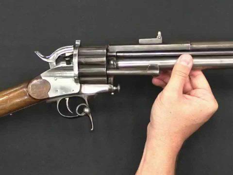 LeMat Centerfire Pistol and Carbine