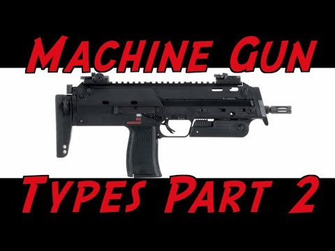Machine Gun Terminology Part 2: SMG, PDW, & Machine Pistol