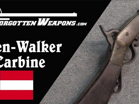 The Keen-Walker Carbine – A Simple Confederate Breechloader