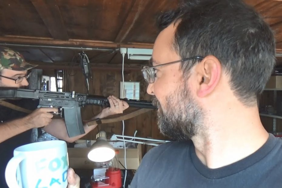 Fun indoors at home with real guns and high pressure ammo? ! ?