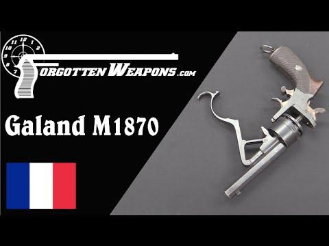 Russian M1870 Galand Revolver
