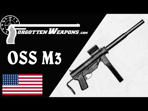 Suppressed OSS M3 Grease Gun and Bushmaster Booby Trap Trigger