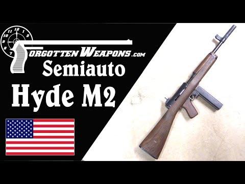 Semiauto M2 Hyde Reproduction: The Interim US WW2 Subgun
