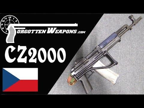 "CZ-2000 ""Lada"" – AK Czechnology in 5.56mm"