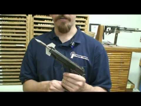"""OSS """"Bigot"""" 1911 dart-firing pistol"""