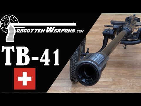 Swiss Tankbuchse 41 Semiauto Antitank Rifle