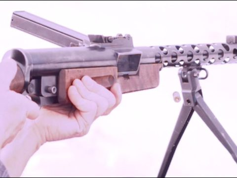 Czech ZK-383 Transferable Submachine Gun