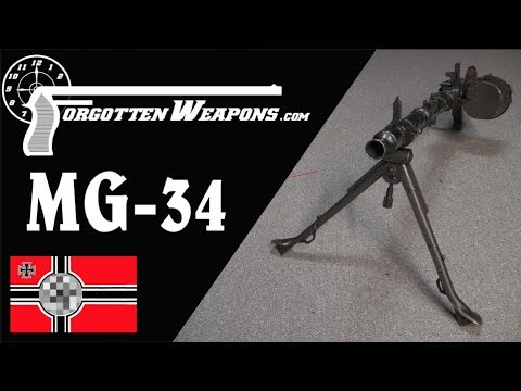 MG-34: The Universal Machine Gun Concept