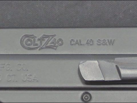 Colt Z40 Pistol #1