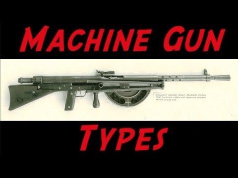 Machine Gun Terminology – LMG, MMG, SAW, LSW, HMG, GPMG