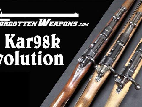 Evolution of the Karabiner 98k, From Prewar to Kriegsmodell