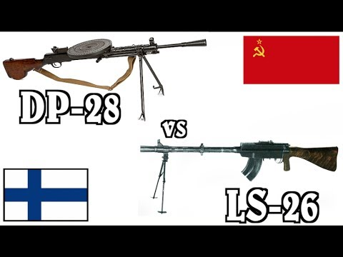 Light Machine Guns in Finland: DP-28 vs LS-26