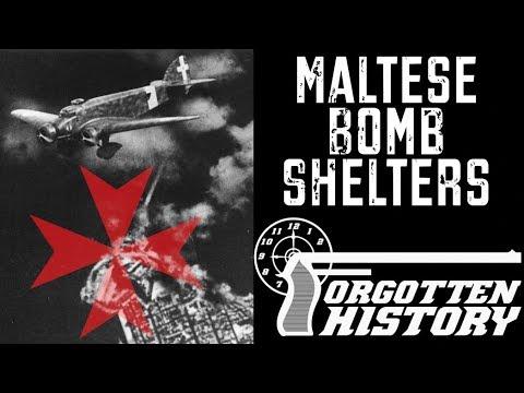 Malta's Hand-Hewn Bomb Shelter Tunnels