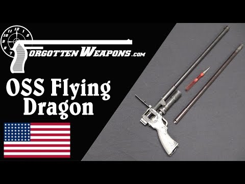 OSS Flying Dragon: A Silent Poisoned Dart Gun