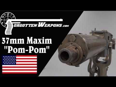 Maxim Pom-Pom 37mm Machine Gun