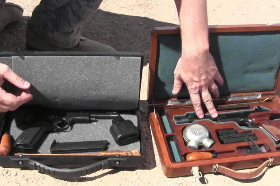 Margolin .22 Target Pistols