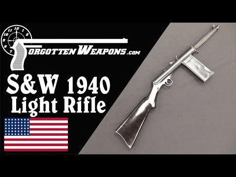 S&W 1940 Light Rifles: Receiver Breakage is a Problem