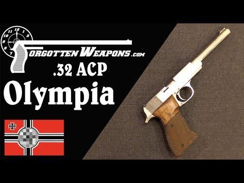 Toolroom Prototype .32 ACP Walther Olympia