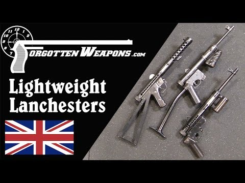 Lightweight Experimental Lanchester SMGs