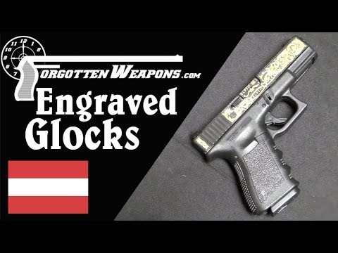 Engraved Glock 19 Pistols – Yes, That's a Thing