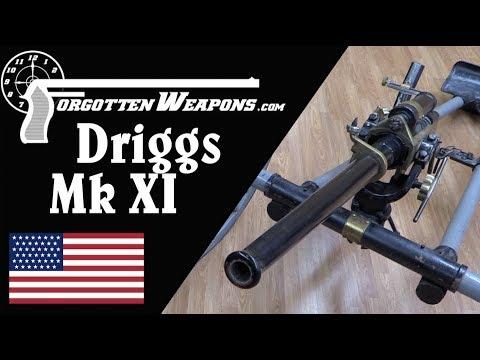US Navy Driggs Mk IX 37mm Quickfire Cannon