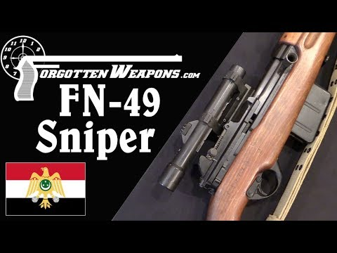 Egyptian FN49 Sniper (Late Pattern)