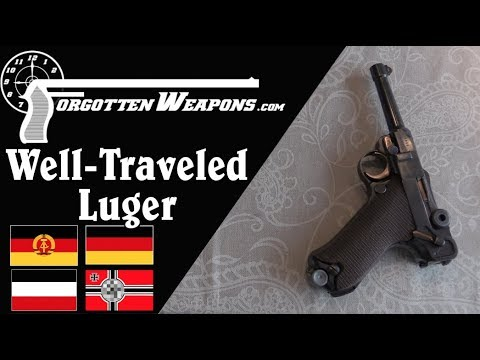 A Well-Traveled Luger