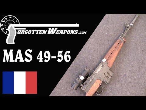 France's Final Battle Rifle Iteration: The MAS 49-56