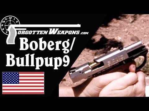 Does the Boberg/Bullpup9 Design Reduce Recoil?