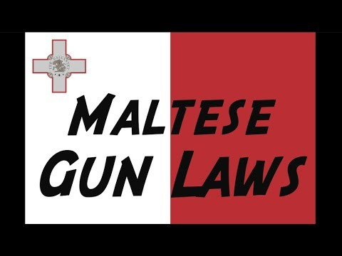 Overview of Maltese Gun Laws