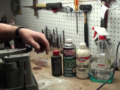 Cleaning your rifle after firing Corrosive Surplus Military Ammunition