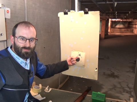 Not Quite Mad Minute with a .303 Lee-Enfield No.4