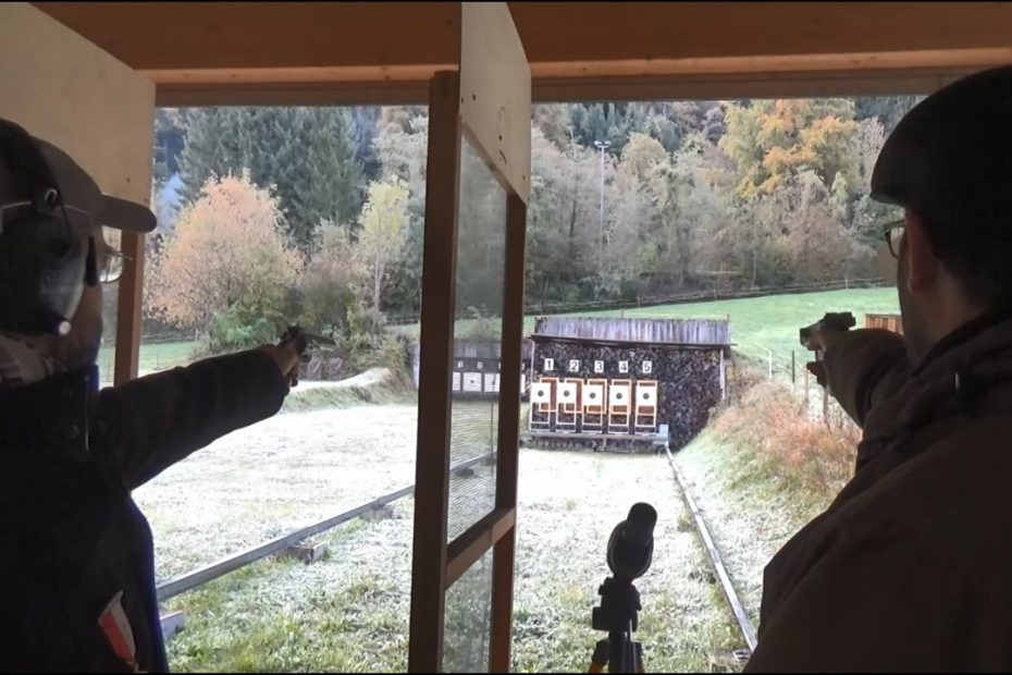 3 days of pistol competition in 12 minutes