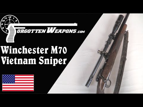 USMC Winchester 70 Sniper – Vietnam Era