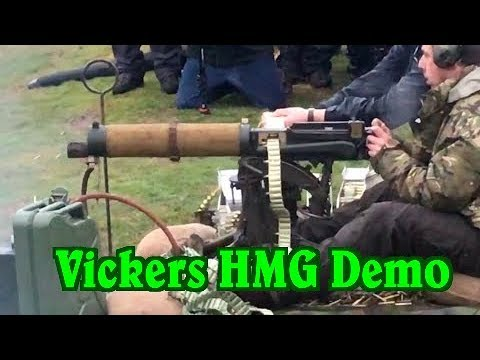 750 Rounds Through a Vickers Heavy Machine Gun