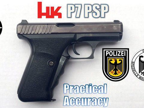 H&K P7 – Close Range Practical Accuracy (Milsurp)