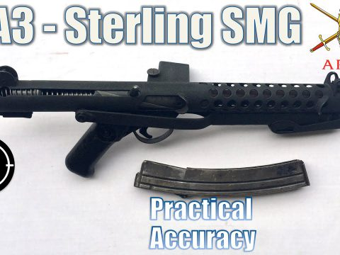 L2A3 Sterling SMG – Close Range Practical Accuracy (Milsurp)