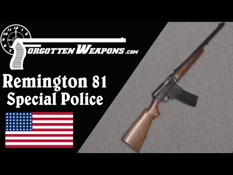 Remington Model 81 Special Police