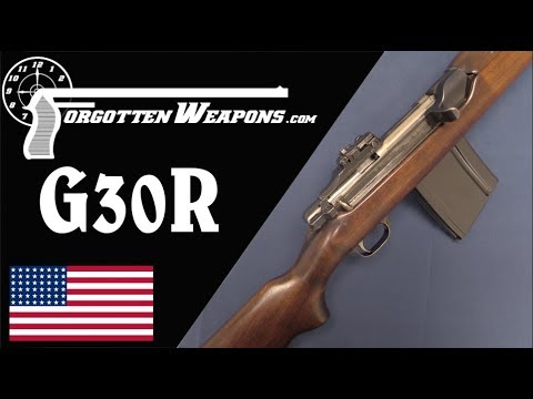 """Carbine"" Williams' Battle Rifle: The Winchester G30R"