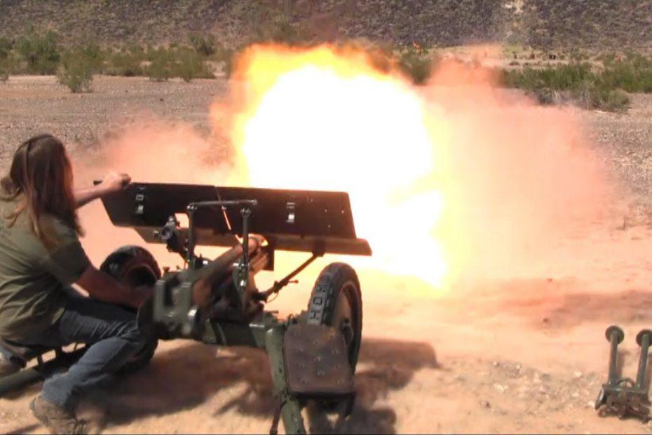 Finnish Bofors 37mm anti-tank gun