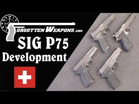 Development of the SIG P220, aka the Swiss P75 Army Pistol