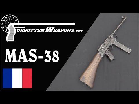 The French MAS-38 Submachine Gun