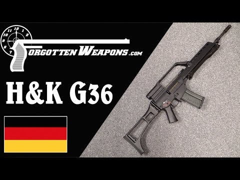 H&K G36: Germany Adopts the 5.56mm Cartridge