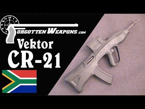 Vektor CR21: South Africa's Futuristic Bullpup