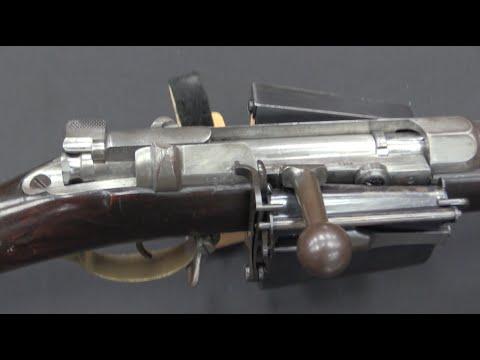 Gewehr 71 with Experimental Magazine