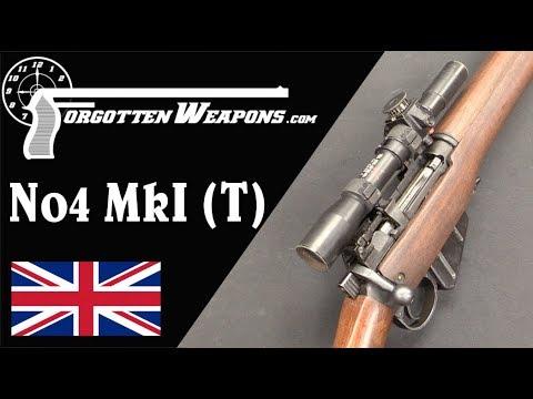 Heavy But Effective: Britain's No4 MkI (T) Sniper Rifle