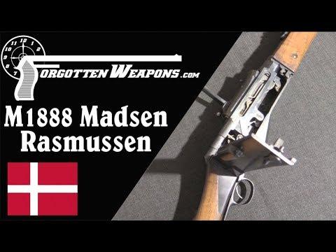 Madsen M1888 Forsøgsrekylgevær: The Strangest Semiauto