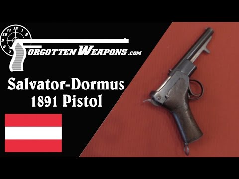 1891 Salvator-Dormus: The First Automatic Pistol